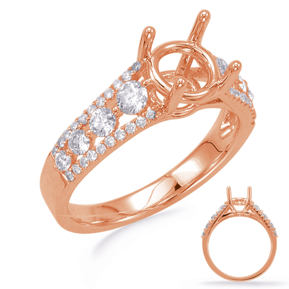 b949bcf5899f70 Rose Gold Engagement Ring